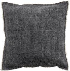 Kissenbezug - 100% Baumwolle - Dunkelgrau- 45x45 cm - Nordal